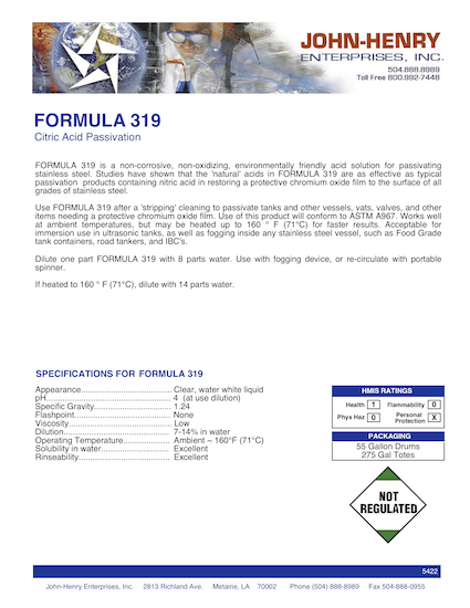 FORMULA 319 btn