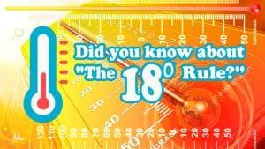 18 degree rule