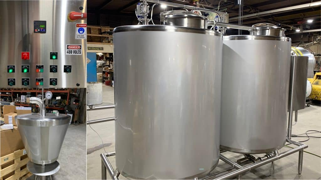 Food Grade CIP Tank Cleaning System
